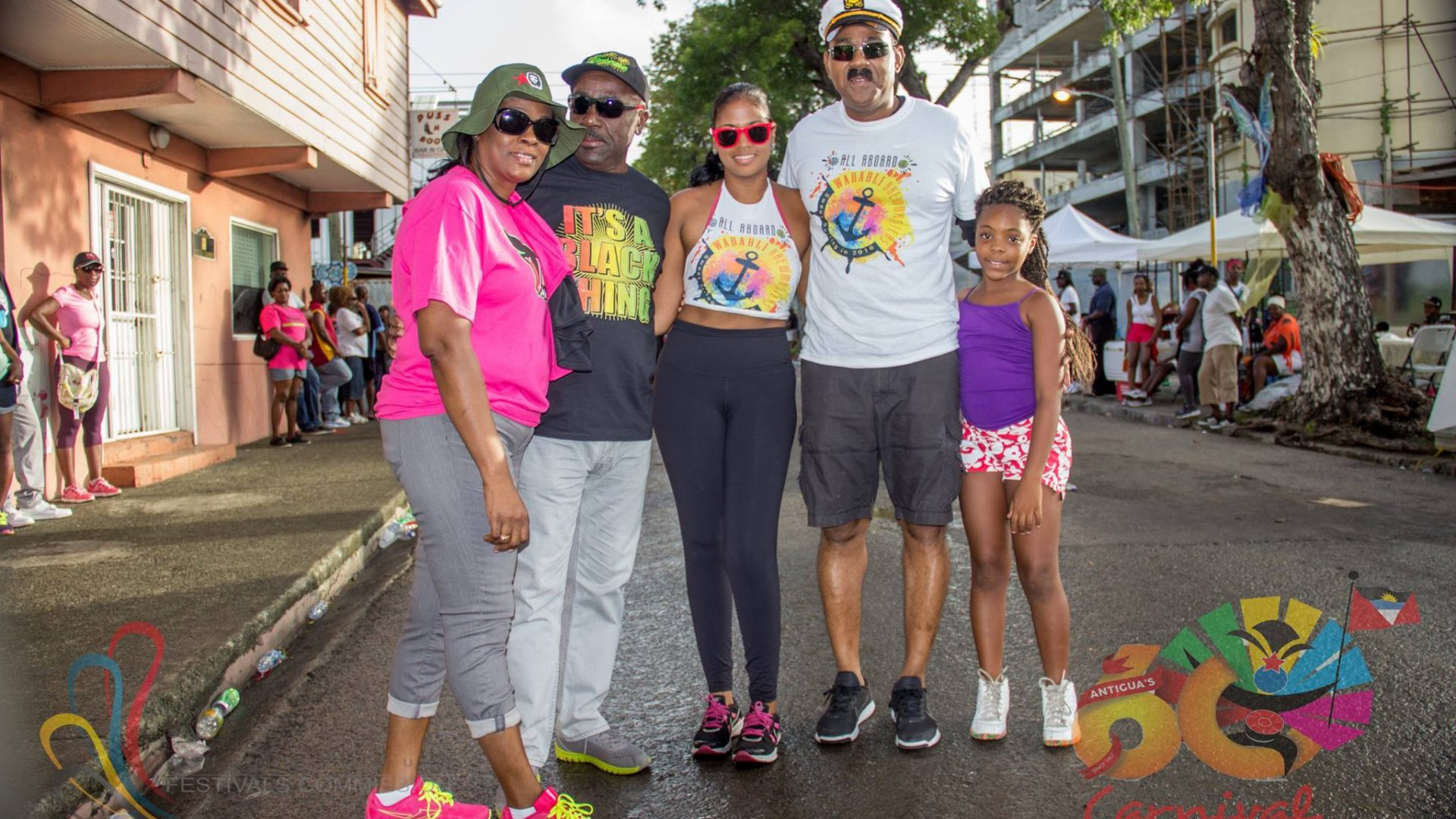 Prime Minister Gaston Browne took this time out to take a photo with these visitors.