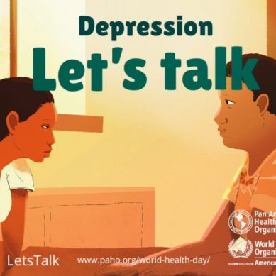 World Health Day April 7 | Depression: Let's Talk.