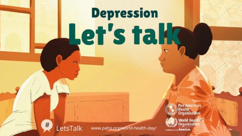 World Health Day April 7 | Depression: Let's Talk.