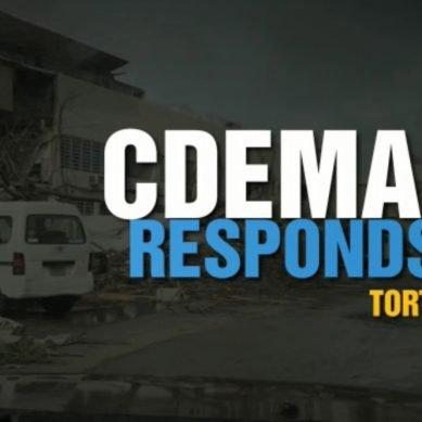 CDEMA Responds Tortola